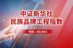 新華社民族品牌工程指數抗跌