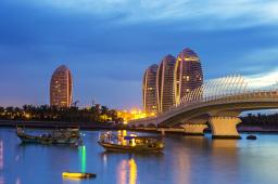 中国海南自由贸易港琼港澳服务业合作示范区揭牌
